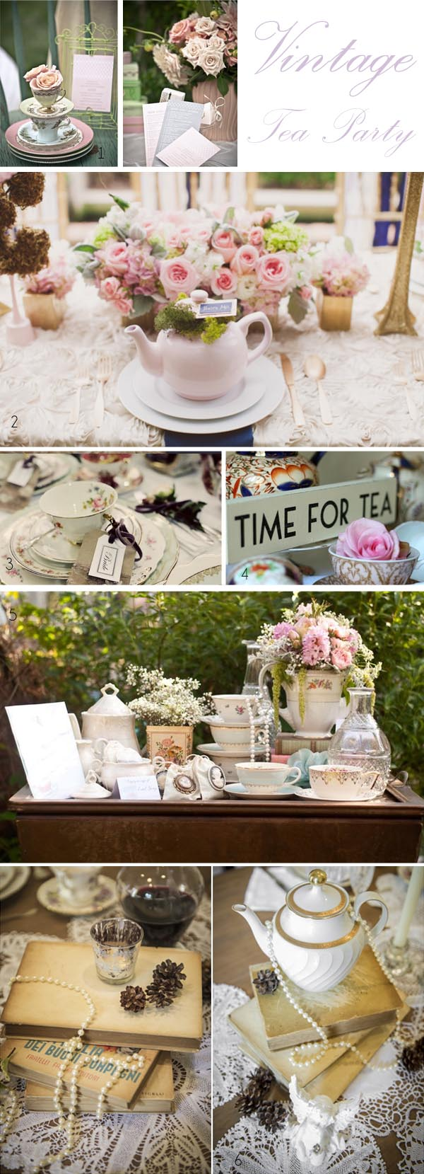 vintage wedding ideas vintage tea party wedding decorations