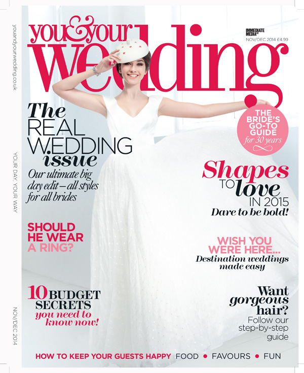 you and your wedding front cover