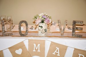 just married hessian bunting (2)