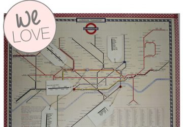 london underground map wedding table plan