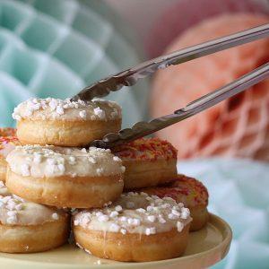 silver tongs wedding dessert table (1)