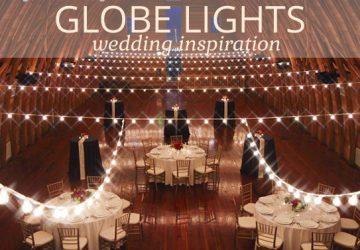string globe lights wedding inspiration