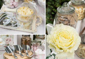 wedding dessert table decorations for sale scoops tree slices glass jars