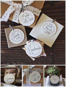 wedding gift tags handmade than you favours