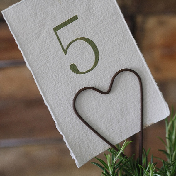 best rustic wedding table numbers ideas heart shaped table number holder