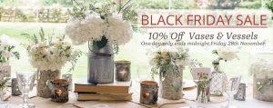 black friday sale wedding centrepieces tree slices bottles vases