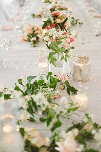 wedding centrepiece tea light holders ideas