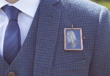 feather buttonholes tiny photo frames