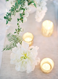 glass tea light holders wedding ideas
