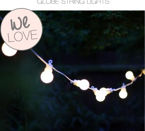 globe string lights bulbs outdoor lighting weddings