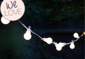 globe string lights bulbs outdoor lighting weddings