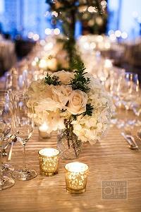 silver tea light holders wedding ideas