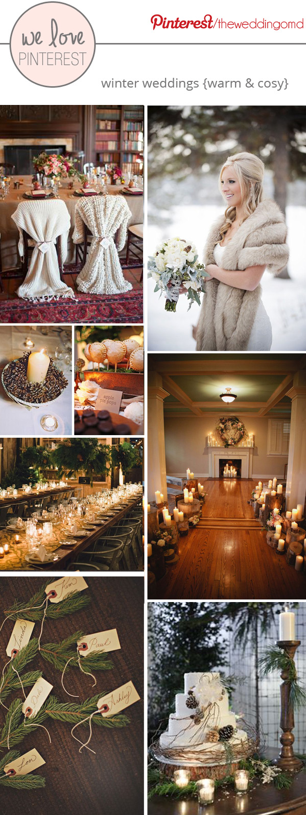 winter wedding ideas warm and cosy