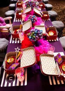 use small suitcases for childrens wedding activity packs