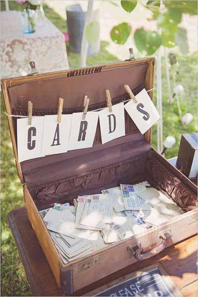 How To Style Vintage Suitcases At Weddings - The Wedding of My ...