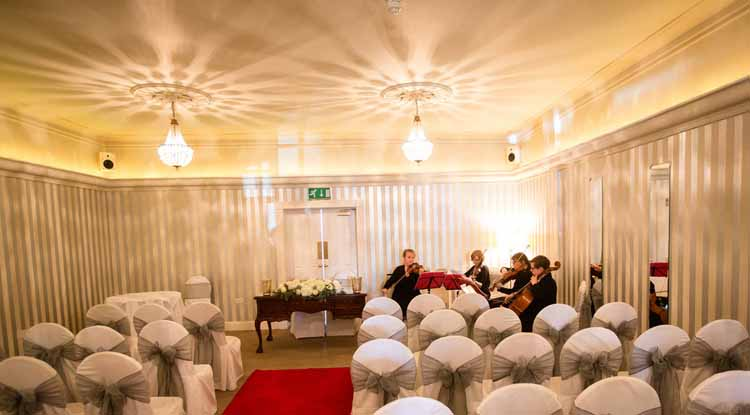 Warwick House Wedding Ceremony Room