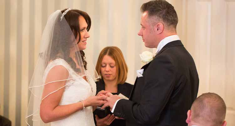Warwick House Wedding Ceremony