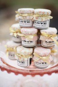 jam and chutney wedding favours