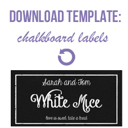 download dessert table tent labels chalkboard