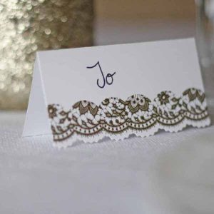 gold wedding place cards cheap