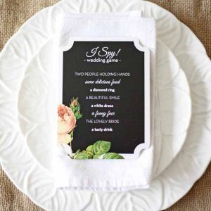 wedding I spy photo prompt sheets ask guests to take these photos at your wedding