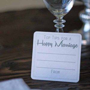 Top tips for a happy marriage alternative wedding guest books
