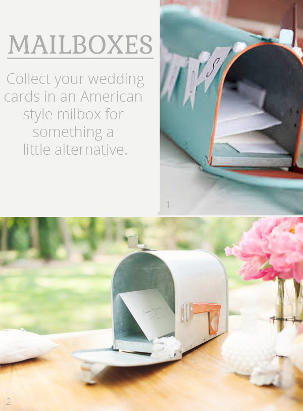 american mailbox for wedding cards