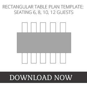 RECTANGULAR WEDDING SEATING PLAN TEMPLATE DOWNLOAD