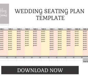 WEDDING SEATING PLAN TEMPLATE DOWNLOAD
