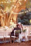 chair back ideas for summer weddings foliage garland on bride and groom chairs