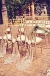 chair back ideas for summer weddings sequin cloths