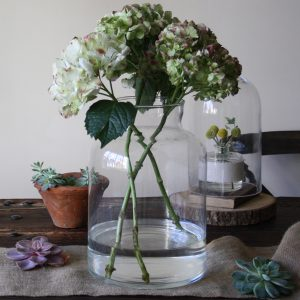 clear glass carboy vase wedding centrepieces