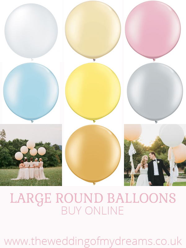 large round balloons for sale buy online