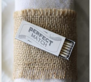 match box wedding favours for sale perfect match