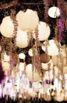 paper lanterns with flowers available from www.theweddingofmydreams.co.uk