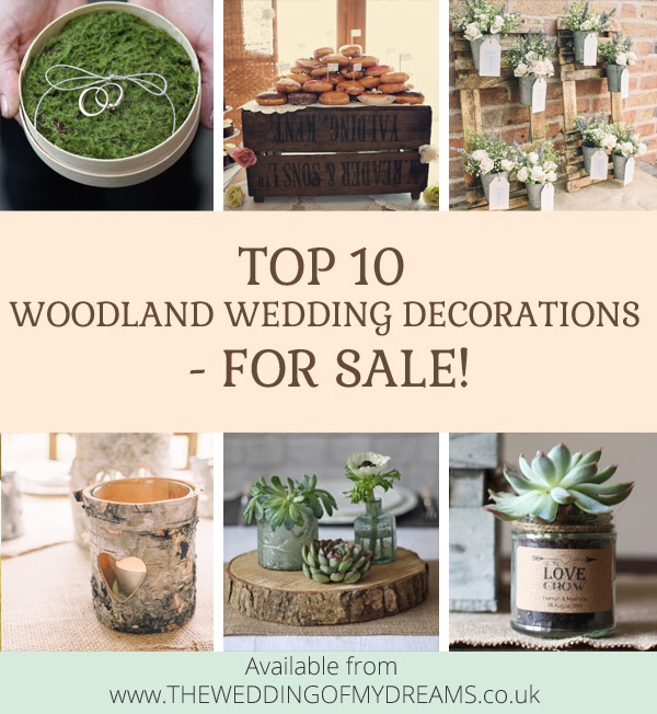 Top 10 woodland wedding decorations for sale top 10 woodland wedding decorations junglespirit Image collections