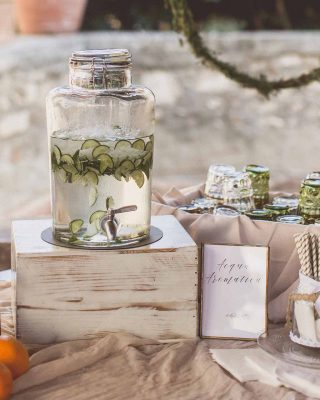 Drinks stations for weddings