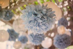 dusty blue grey wedding ideas