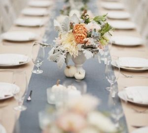 dusty blue grey wedding ideas