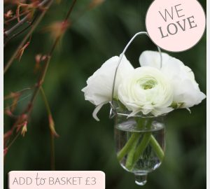 hanging wedding decorations bud vases