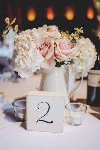 jugs wedding centrepieces