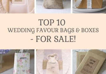 top 10 wedding favour bags and boxes for sale