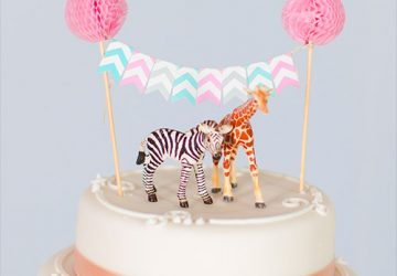 cake topper bunting with animal cake toppers marks & spencer wedding cakes