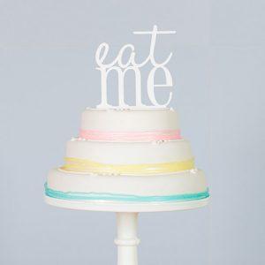 eat me wedding cake topper marks & spencer wedding cakes