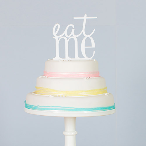eat me wedding cake topper marks & spencer wedding cakes