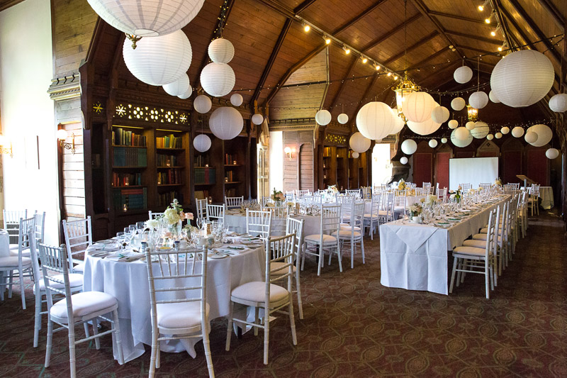 hanging paper lanterns wow factor wedding decorations