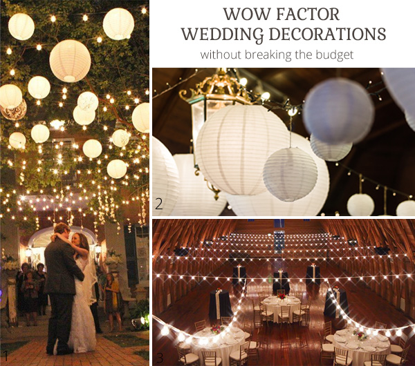 Wow factor wedding ideas without breaking the budget junglespirit Choice Image