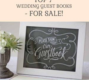 TOP 7 WEDDING GUEST BOOKS FOR SALE