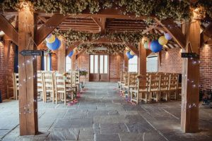 blackboard directional wedding signs - rustic barn wedding decorations (1)