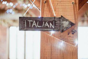 blackboard directional wedding signs - rustic barn wedding decorations (2)